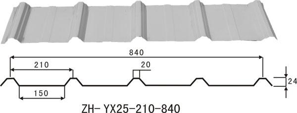 YX 25-210-840#墙面板