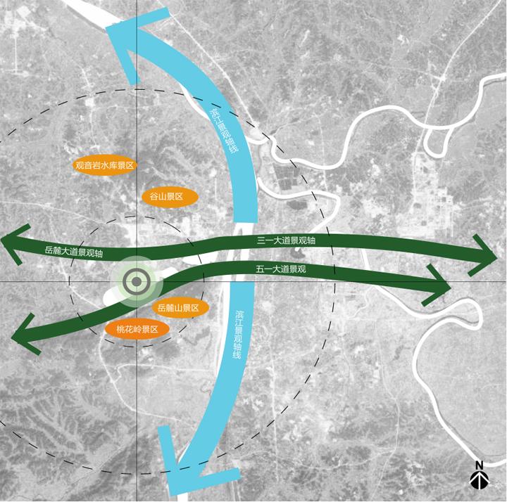 梅溪湖金茂项目位置