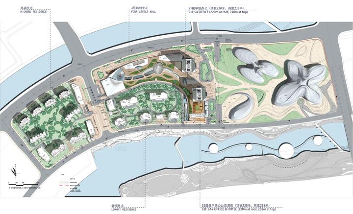 梅溪湖金茂项目图